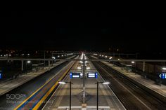 Last train to nowhere by dhoven Transportation Photography #InfluentialLime