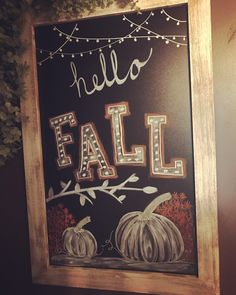 Fall Chalkboard The post Fall Chalkboard & Bastelideen appeared first on Fall decor ideas . Fall Chalkboard Art, Thanksgiving Chalkboard, Chalkboard Doodles, Blackboard Art, Chalkboard Writing, Kitchen Chalkboard, Chalkboard Drawings, Chalkboard Lettering, Chalkboard Designs