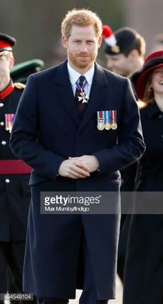 Prince Harry attends The Sovereign's Parade at the Royal Military Academy Sandhurst on December 15 2017 in Camberley England The Sovereign's Parade...
