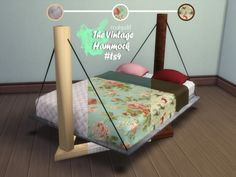 The Vintage Hammock - The Sims 4 - SimsDomination