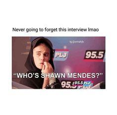 Same, i had no idea who Shawn Mendes was until a few weeks ago! lol