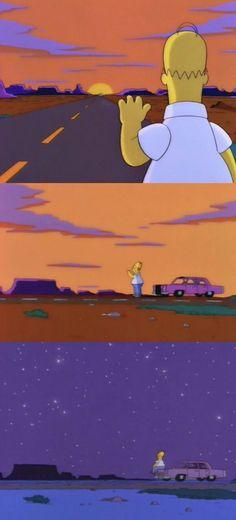Breaks my heart everytime Simpson Wallpaper Iphone, Cartoon Wallpaper, Mood Wallpaper, Aesthetic Iphone Wallpaper, Simpsons Simpsons, Simpson Wave, Cartoon Memes, Cartoons, Vintage Cartoon