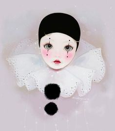 PIERROT costume for kids