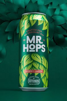 Mr. Hops on Packaging of the World - Creative Package Design Gallery
