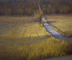 Curve in the Road by Kim Casebeer Oil ~ 20 x 24