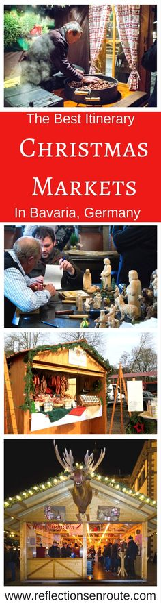Click here for the perfect German Christmas Market in 5 Bavarian cities. #Christmas #Germany #Bavaria #ChristmasMarket width=