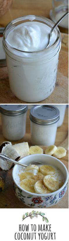 Coconut yogurt is super creamy and flavorful!