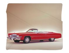 "1973 Cadillac Photo Blanket / Wall Banner 50 x 60"" or 60 x 80"""