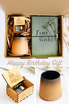 صندوق هدية عيد الميلاد Happy 8th Birthday Gifts 8th Birthday