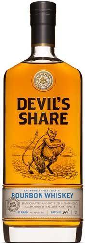 Ballast Point Devil's Share California Small Batch Bourbon Whiskey