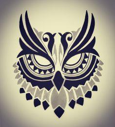 Buho Tattoo Eule Owl Owl Stencil Und Owl Art