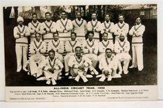 ALL INDIA CRICKET TEAM 1932
