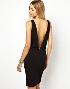 Image 2 ofBA&SH Low Back Pinafore Dress