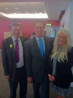 darren hardy of success magizine with gavin scott and bonnie arapes at kleeneze conference in birmingham  https://www.gavinscott.org