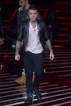 Fedez in Armani * Fedez chooses the metropolitan look by Emporio Armani for the new edition of X-Factor