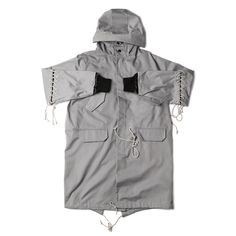 """@NDG.Studio """"Laced Fishtail Parka""""   Available now in-store + online   #NidDeGuepes"""