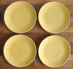 Ceramic PlatesHoganas KeramikSwedenSet of 4 by MarketHome on Etsy, $38.00