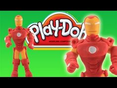Play Doh Iron Man : How To Make Marvel Avengers Iron Man  Play Dough