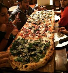 #Throwback to the Giant Pizza at Pizza Metro Pizza Bandra.  Tag your friends #PizzaCravings    Photo by @pankti_anjaria  #things2doinmumbai #Mumbai #Pizza #foodtalkindia #Mymumbai #Foodofmumbai #Mumbaikars #Bombay #India by things2doinmumbai