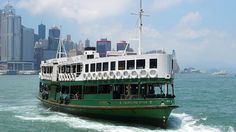 When in Hong Kong, be sure to catch a ride on the retro Star Ferry