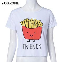 >> Click to Buy << Summer women Cartoon Print O-Neck T-shirt Women Cotton Best Friends T Shirt Tops Short Sleeve Tee Shirt #Affiliate