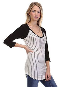 TheLovely Women Pin Striped Solid V-Neck 3/4 Sleeve Tunic Baseball Tee Shirt Raglan Top Searching for baseball softballs ideas  http://homerun.co.business/product/thelovely-women-pin-striped-solid-v-neck-34-sleeve-tunic-baseball-tee-shirt-raglan-top/