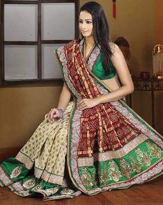 The Bride Dresses - 10 Ghantachola sarees