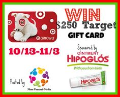 $250 Target Gift Card Giveaway – Parenting | Life Style | Reviews