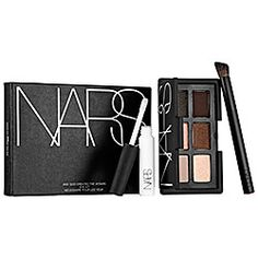 NARS - And God Created The Woman Part 2: a limited-edition eye shadow kit with six neutral, shimmering and matte shades, a Wide Contour Eye Shadow Brush, and a mini Pro-Prime™ Smudge Proof Eyeshadow Base. #Sephora