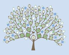 Custom family tree 6 generation or descendant tree print copy view these fun and creative family tree craft template ideas to help entertain your family on fathers dayese family tree craft template ideas are a fast saigontimesfo
