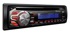 Pioneer Receptor Audio 1Din Cu Cd Usb Aux-In Rca Audio, Usb