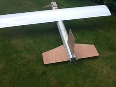 At present control surfaces and servos are needed.