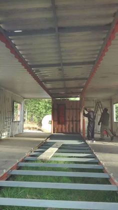 Build a Container Home Container Shop, Sea Container Homes, Building A Container Home, Container Cabin, Storage Container Homes, Cargo Container, Container House Design, Tiny House Design, Container Architecture