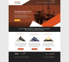 Responsive Website for Seamans Offshore Solutions