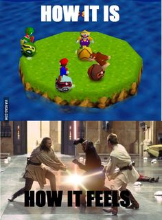I will never forget you, Mario Party
