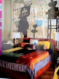 This Bohemian bed covering! <3