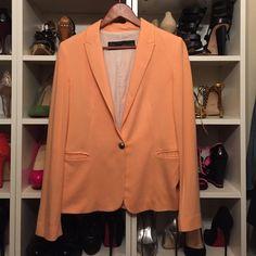 Dress blazer Gently used. Classic blazer. Dress up or down. Zara Jackets & Coats Blazers