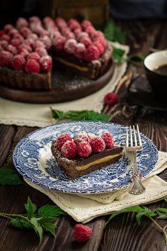 Skikkelig god kombinasjon av sjokolade og karamell, som resulterer i en himmelsk og god sjokoladekake.