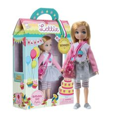 Lottie Birthday Girl Sophia is so excited for her birthday. This special Lottie Doll is a perfect birthday gift. But it does not have to be someone's birthday to have a pretend birthday party. Happy Birthday Doll, Girl Birthday, Birthday Ideas, Boy Doll, Girl Dolls, Silver Trainers, Doll Eyes, Snow Queen, Imaginative Play
