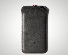 Slim Italian leather pocket iPhone case by Hardgraft
