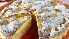 Poppy seed cake with vanilla cream and chocolate (delicious cake, tastes delicious, always succeeds) - Backen - Kuchen Italian Desserts, Apple Desserts, Apple Recipes, Sweet Recipes, Delicious Desserts, Cake Recipes, Yummy Food, Italian Cake, Italian Foods