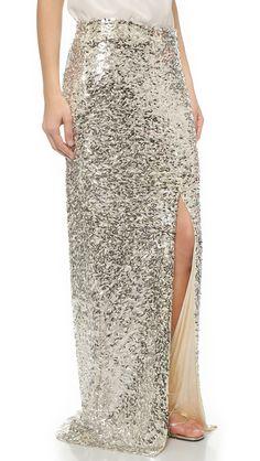 Malene Birger Sequin Skirt