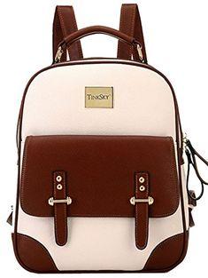 Tinksky® New Vintage Retro Mori Girl Backpack Shoulder Ba…