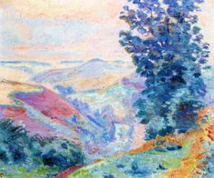 The Athenaeum - Le Puy Bariou (Armand Guillaumin - ) 1918