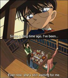 Conan, Ran, Sonoko and Kazuha