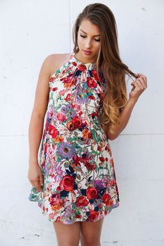 Hold My Hand Dress {Fuchsia Combo} from The Rage