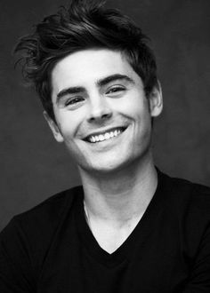 Zac Efron's smile could solve anything
