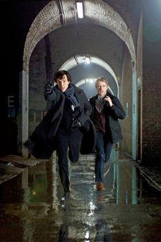 Sherlock And John iPhone 4/4S Wallpaper