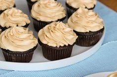 Mocha Kahlua Cupcakes
