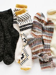 cozy freepeople socks - gimme